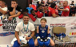 Юная криворожанка завоевала серебро на чемпионате Мира по таиландскому боксу