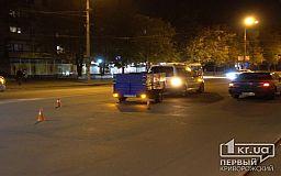 ДТП в Кривом Роге: Volkswagen сбил пешехода