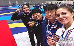 В Японии две криворожанки заняли призовые места на чемпионате по вольной борьбе