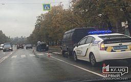 ДТП в Кривом Роге: на пешеходном переходе ГАЗель «догнала»  Chevrolet Aveo