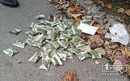 Криворожанин хранили 60 слип-пакетов с марихуаной «для себя»