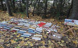 У криворожанки изъяли 700 пачек сигарет