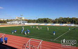 Криворожские футболисты команды «Горняк» обыграли николаевских спортсменов