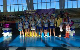Криворожане выступили на открытом чемпионате Украины по прыжкам на акробатической дорожке
