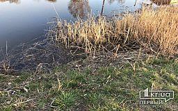 В Кривом Роге спасатели достали из реки тело мужчины