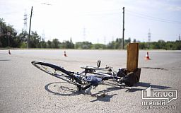 В Кривом Роге водитель маршрутки сбил велосипедиста