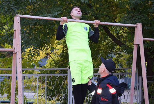Криворожские горноспасатели заняли второе место на спортивных состязаниях