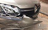 ДТП в Кривом Роге: ГАЗель и легковушка столкнулись на перекрестке