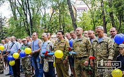 Несуществующий в Украине праздник времен СССР вышли отмечать криворожские десантники