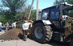 Жители одного из домов в частном секторе Кривого Рога провели незаконный водопровод