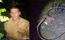 За кражу кабеля криворожанина могут посадить в тюрьму на 6 лет