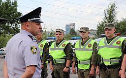 На микрорайоне Восточный в Кривом Роге следят за порядком нацгвардейцы