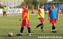 В контрольном матче подготовки к сезону футболисты клуба «Горняк» обыграли команду «Кривой Рог»