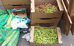 В Кривом Роге у уличных торговцев изъяли 400 килограммов продуктов