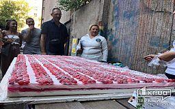 Онлайн: самое тяжелое мыло в Украине - в Кривом Роге зафиксирован рекорд