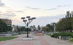 Из-за поврежденных USB-разъемов в Кривом Роге снова не работает «Солнечное дерево»