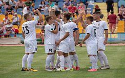 Криворожский футбольный клуб «Горняк» возглавил турнирную таблицу Второй лиги