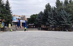 Центральную площадь на Даманском ремонтируют за деньги Метинвеста