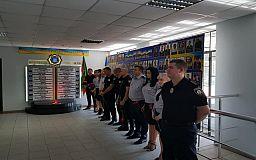 Криворожские полицейские почтили память погибших коллег