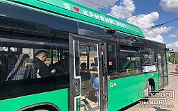 Куда делись новые зеленые автобусы, которые вышли на маршрут в Кривом Роге месяц назад