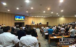 Побратимство с городом в Грузии и петиция транспортного активиста: без мэра в Кривом Роге проходит пленарное заседание сессии горсовета