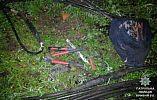 Ночью в Кривом Роге патрульные задержали вора кабеля
