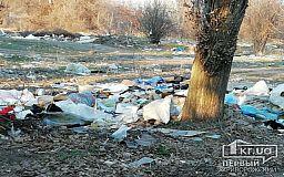 Возле больницы в Кривом Роге образовалась стихийная свалка, - свидетели событий