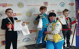 Криворожские фигуристы заняли призовые места на состязаниях в Одессе