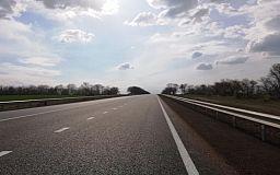 На трассе Днепр-Кривой Рог-Николаев выполнили ремонтные работы