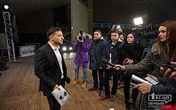«При всьому бажанні» прес-конференцію Зеленського не організують до другого туру виборів Президента