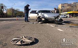 На одной из центральных дорог Кривого Рога случилось ДТП