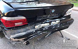 В результате ДТП в Кривом Роге травмировался водитель легкового авто