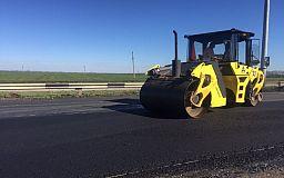 На трассе Днепр-Кривой Рог-Николаев продолжаются ремонтные работы