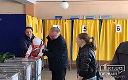 В первые часы работы избирательных участков более 12 тысяч криворожан уже проголосовали