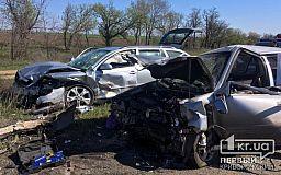 Пятеро человек пострадали в результате лобового столкновения авто на трассе Кропивницкий-Кривой Рог-Запорожье