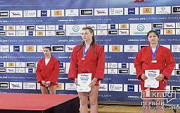 Криворожанка завоевала бронзу на чемпионате Европы по самбо