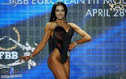 Криворжанка прошла в финал чемпионата Европы среди фит-моделей IFBB