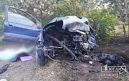 Смертельное ДТП в Кривом Роге: столкнулись Москвич и Ford, три человека погибли
