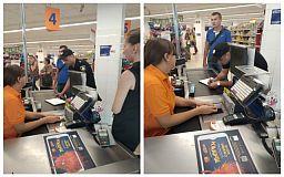 Криворожский супермаркет могут лишить лицензии