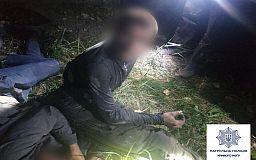 На территории ЮГОКа в Кривом Роге полицейские устроили погоню за ворами кабеля