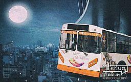 Криворожанин предлагает депутатам ввести ночные маршруты троллейбусов