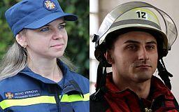 Пожарный и спасательница из Кривого Рога победили в областном фотоконкурсе