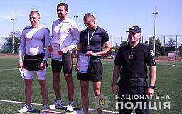 Полицейский из Кривого Рога победил на состязаниях по легкоатлетическому кроссу