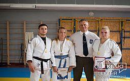 Криворожские дзюдоисты завоевали медали на областном чемпионате