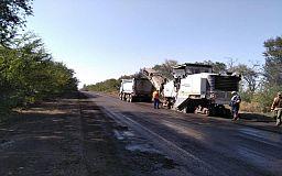 На Криворожской трассе начался новый этап ремонтных работ