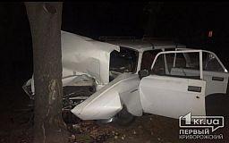 В Кривом Роге скончалась пассажирка «Москвича», который врезался в дерево, - полиция ищет свидетелей ДТП