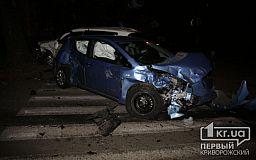 В Кривом Роге в ДТП пострадали два водителя
