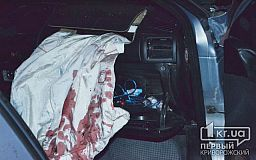 На выезде из Кривого Рога поздно вечером случилось два ДТП