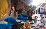 На EuroFest в Кривом Роге провели cake ring - студенты украсили десерты