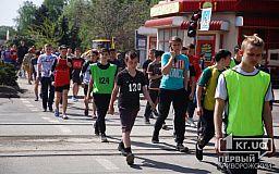 Тысячи криворожан участвуют в майской легкоатлетической эстафете